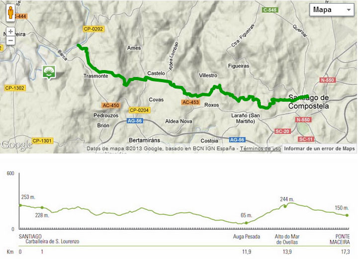 Primera etapa a Finisterre